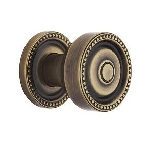 Baldwin Estate 5065 Knob Set Satin Brass and Black (050)