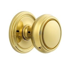 Baldwin Estate 5068 door Knob Set Lifetime Polished Brass (003)