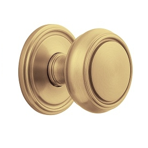 Baldwin Estate 5068 Door Knob Set Vintage Brass (033)