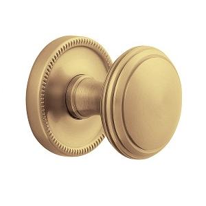 Baldwin Estate 5069 door Knob Set Vintage Brass (033)