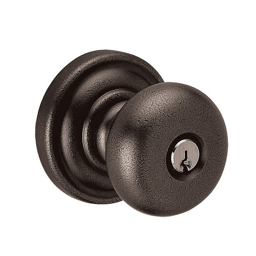 Baldwin 5205.ENTR Classic Keyed Entry 402 Distressed Oil Rubbed Bronze
