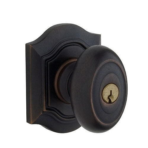 Baldwin 5237.ENTR Bethpage Keyed Entry 402 Distressed Oil Rubbed Bronze