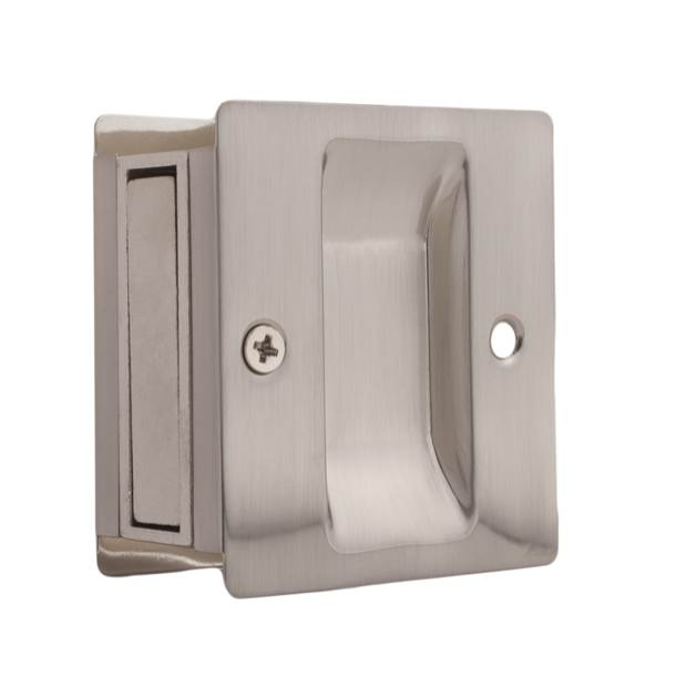 Weslock 527 Passage Pocket Door Pull Satin Nickel