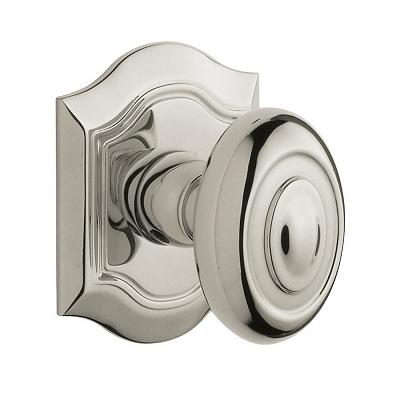 Baldwin Estate 5077 door knob Lifetime Polished Nickel (055)