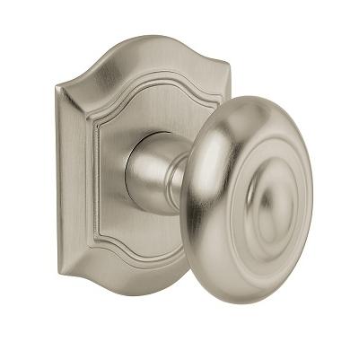 Baldwin Estate 5077 door knob Lifetime Satin Nickel (056)
