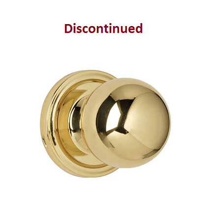 Weslock Traditionale Collection Ball Keyed Entry Door Knob Set Low