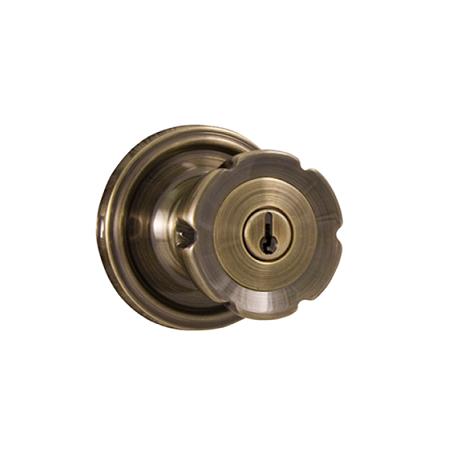 Weslock Eleganti 640E Keyed Entry Antique Brass (5)