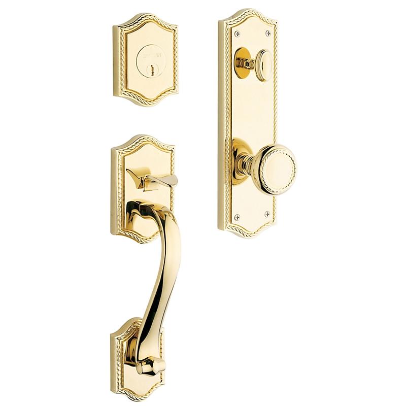 baldwin estate bristol handleset lifetime polished brass 003