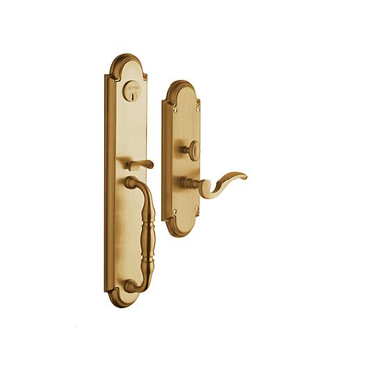 Baldwin Estate 6544 Hamilton Mortise Handleset in Vintage Brass (033)