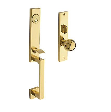 Baldwin Estate 6562 New York Mortise Handleset in Lifetime Polished Brass (003)