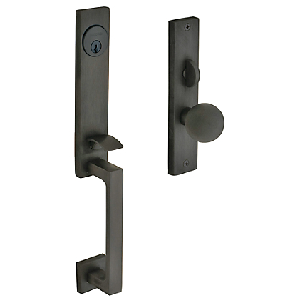 Baldwin Estate 6562 New York Mortise Handleset in Oil Rubbed Bronze (102)