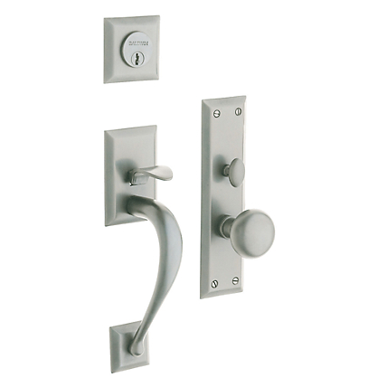 Baldwin Estate 6571 Concord Mortise Handleset Satin Nickel (150)