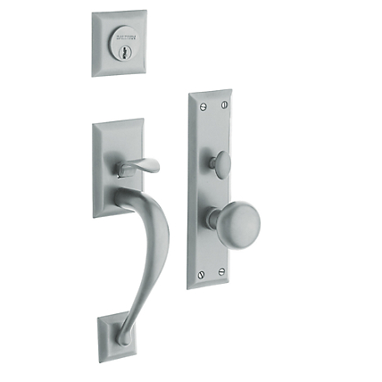 Baldwin Estate 6571 Concord Mortise Handleset Satin Chrome (264)