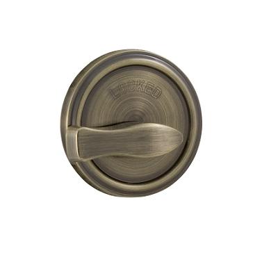 Weslock 667 One Sided Deadbolt Antique Brass (5)