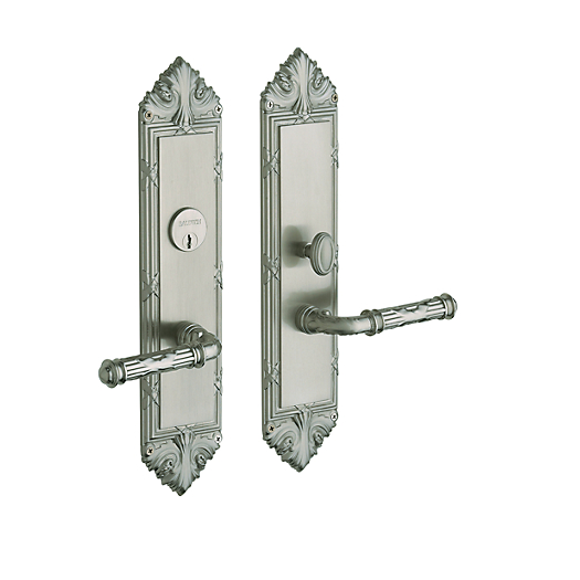 BalBaldwin Estate 6962 Fenwick Mortise Entrance Set in Satin Nickel