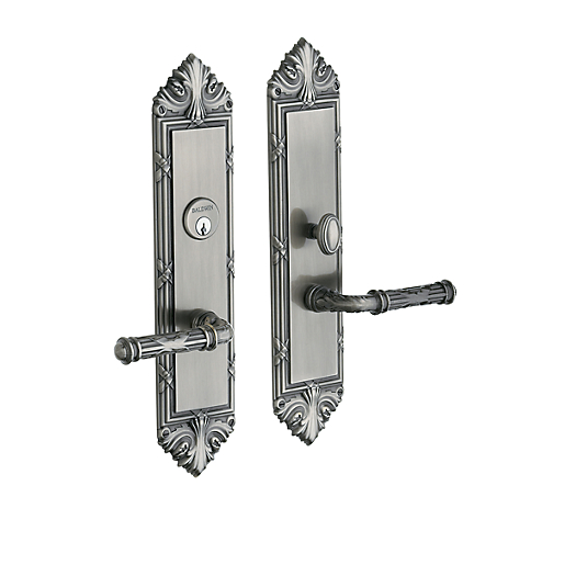 Baldwin Estate 6962 Fenwick Mortise Entrance Set in Antique Nickel