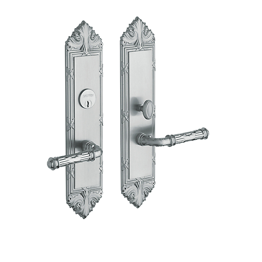 Baldwin Estate 6962 Fenwick Mortise Entrance Set in Satin Chrome