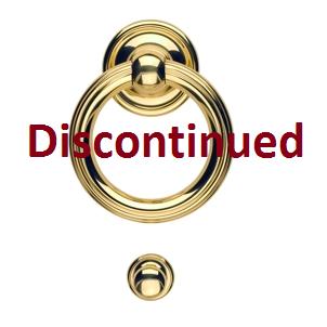 Omnia 698 Door Knocker Polished Brass (US3)