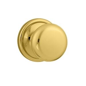 Weiser GCA12H Dummy 3 Polished Brass
