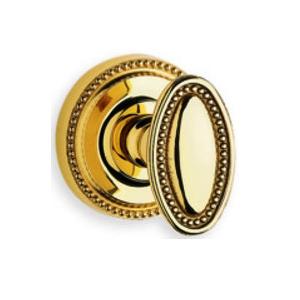 Omnia 723 Knob Latchset Polished Brass (US3)