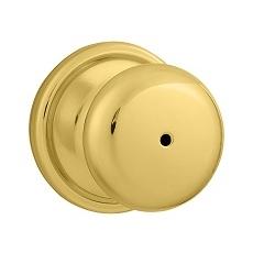 Weiser GCA331H Privacy 3 Polished Brass