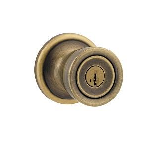 Kwikset 740A-SMTSmartKey Entry 5 Antique Brass