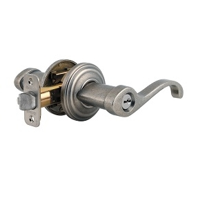 Kwikset Commonwealth 740CHL-SMTKeyed Entry 502 Rustic Pewter