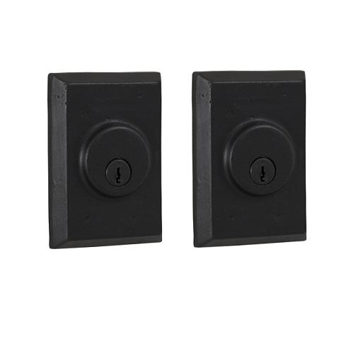 Weslock 7972 Square Double Cylinder Black (19)