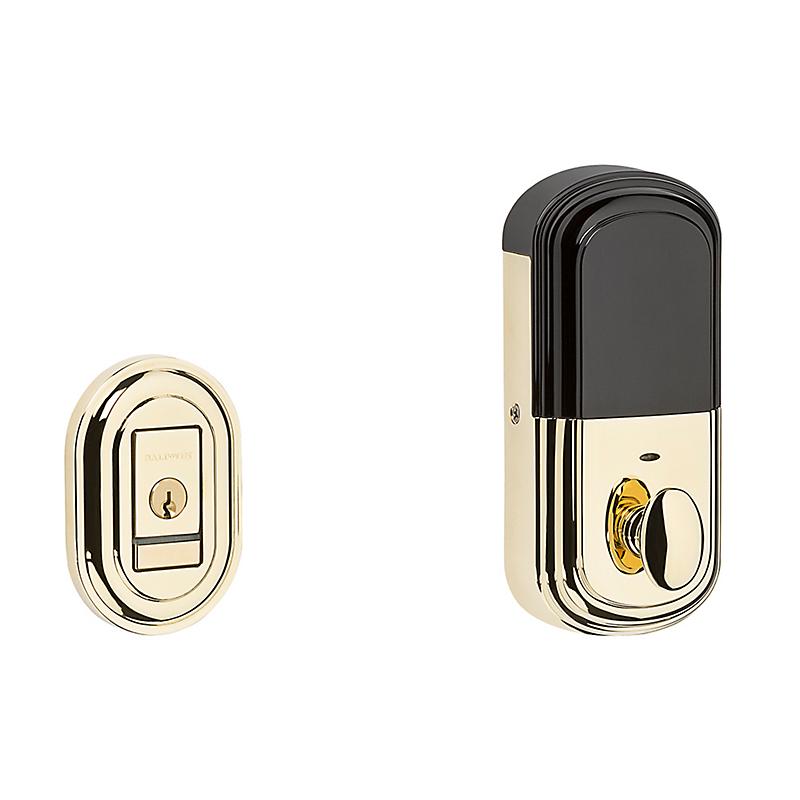 Baldwin Estate 8231.003.B Traditional EVOLVED SMART Bluetooth Deadbolt