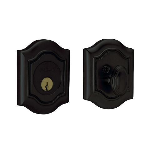 Baldwin 8237 Single Cylinder 190 Satin Black