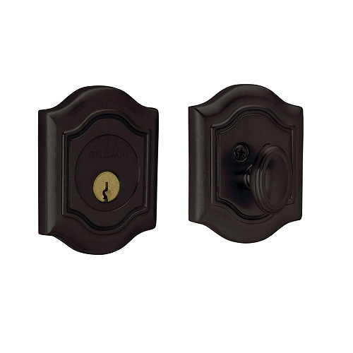 Baldwin 8237 Single Cylinder 402 Distressed Oil Rubbed Bronze