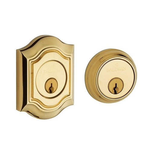 Baldwin 8238 Double Cylinder 031 Non-lacquered Brass