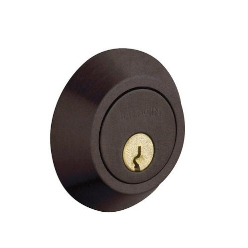 Baldwin 8242 Double Cylinder 412 Distressed Venetian Bronze