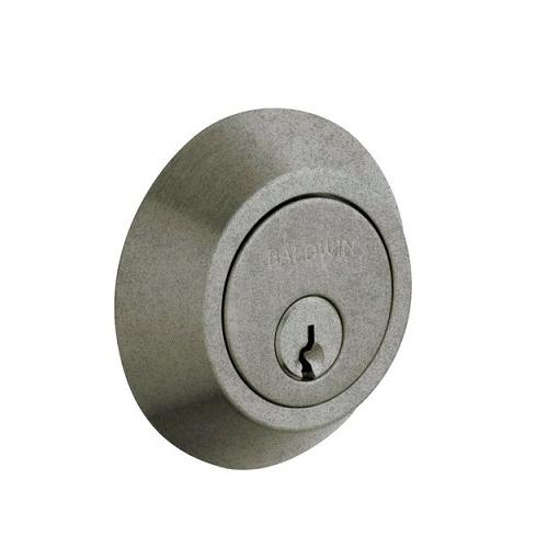 Baldwin 8242 Double Cylinder 452 Distressed Antique Nickel