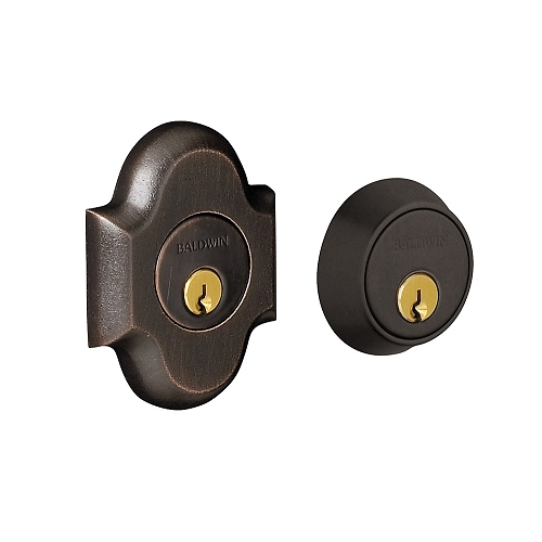 Baldwin 8253 Double Cylinder 402 Distressed Oil Rubbed Bronze