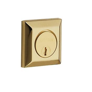 Baldwin 8254 Single Cylinder 003 Lifetime Polished Brass