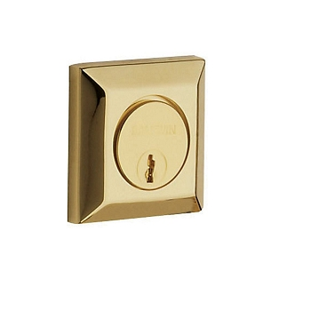 Baldwin 8254 Single Cylinder 031 Non-lacquered Brass