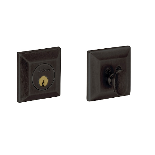 Baldwin 8254 Single Cylinder 102 Oil Rubbed Bronze