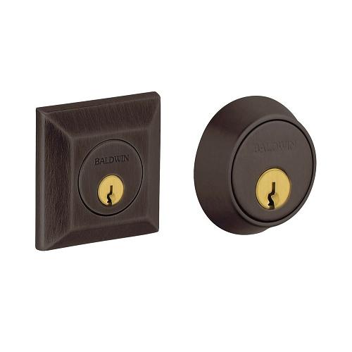 Baldwin 8255 Double Cylinder 112 Venetian Bronze