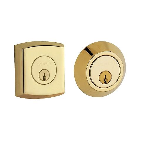 Baldwin 8286 Double Cylinder 003 Lifetime Polished Brass