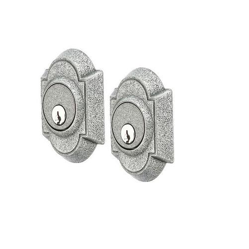Emtek 8361 #1 Style Double Cylinder Deadbolt Satin Steel