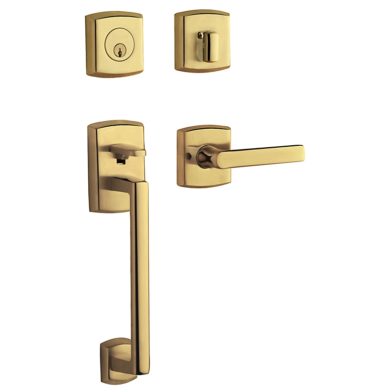 Baldwin Estate 85386 Soho Handleset Lifetime Polished Brass (003)