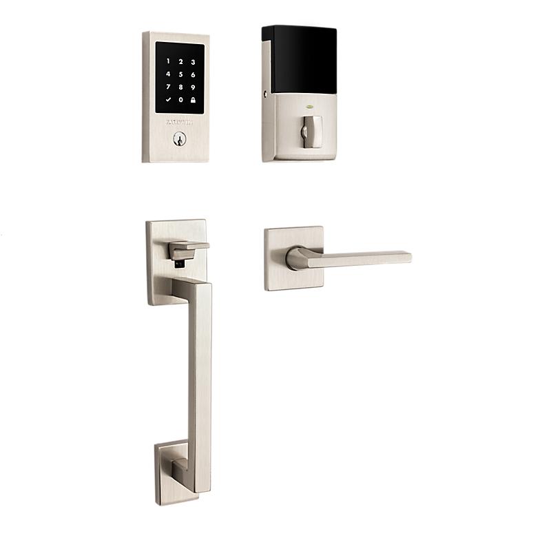 Baldwin Estate 85393.150 Minneapolis Touchscreen Keyless Handleset Satin Nickel (150)