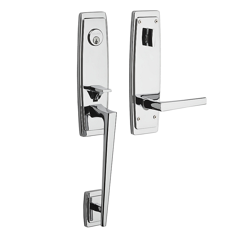 Baldwin Estate 85396 Palm Springs 3/4 Escutcheon Handleset Polished Chrome