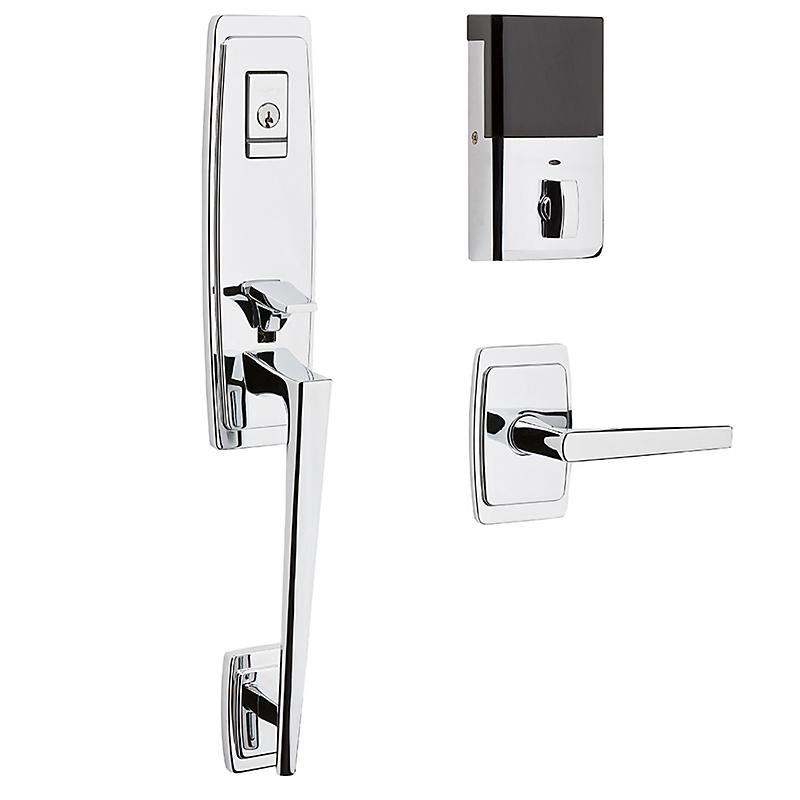 Baldwin Estate 85396.260.B Palm Springs EVOLVED SMART Bluetooth 3/4 Escutcheon Handleset