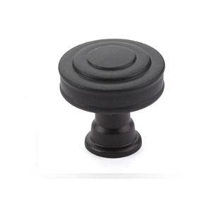 Emtek 86463 Glendon Cabinet Knob Flat Black