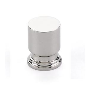 Emtek 86469, 86470 Transitional Heritage Prosser Cabinet Knob Polished Nickel