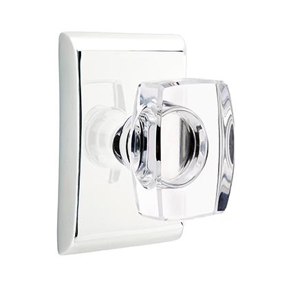 Emtek Modern Windsor Crystal Door Knob Set Low Price