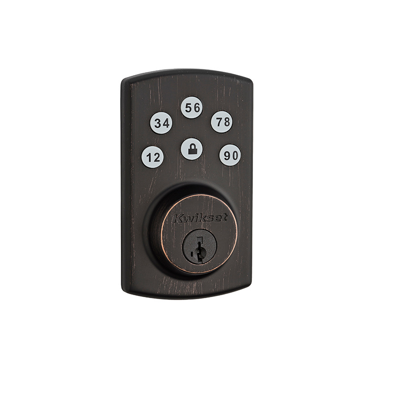 Kwikset 907-2-11Ps Powerbolt 2 Touchpad Electronic Deadbolt