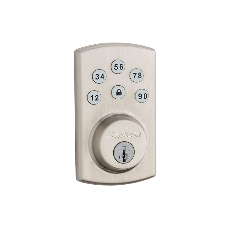 Kwikset 907-2-SMT Powerbolt 2 Touchpad Electronic Deadbolt | Low ...